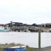 PART OF THE WORKING HARBOUR FROM THE WALBERSWICK BANK